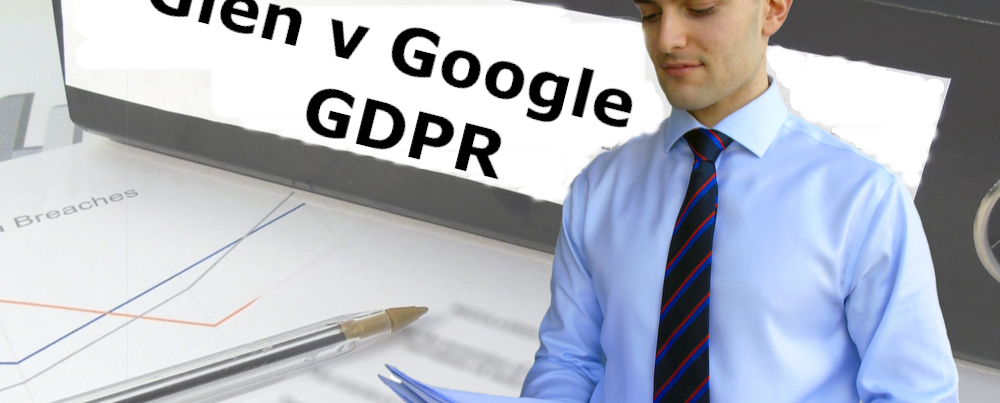GDPR Claim against Google