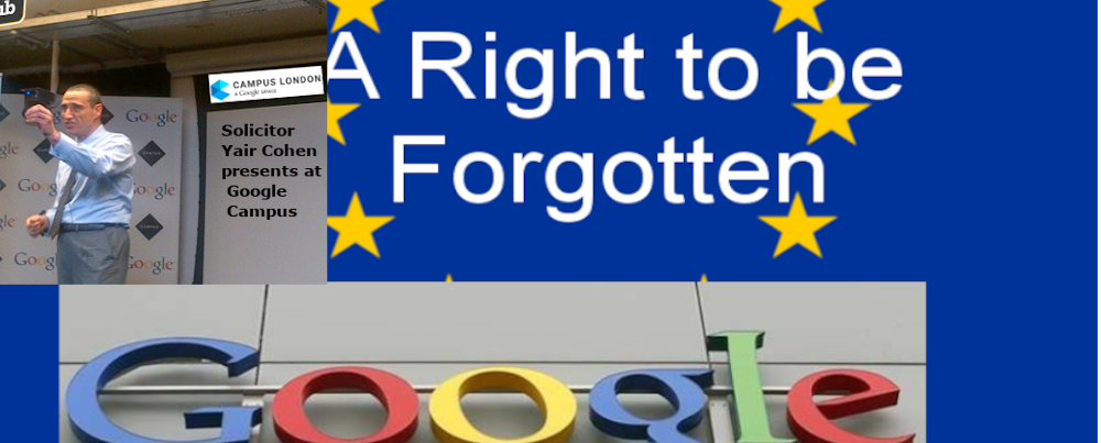 A Right To Be Forgotten explained
